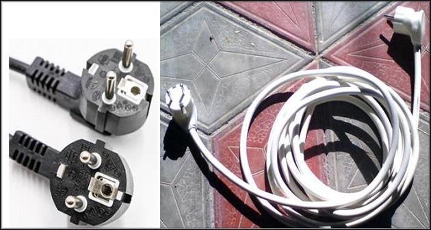 вилки, провода