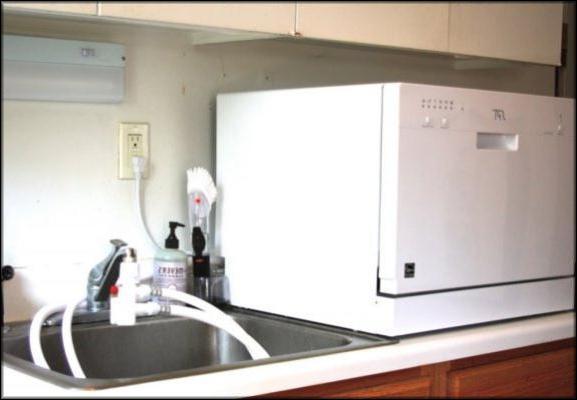 Переносная посудомойка