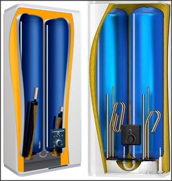 • накопительные электрические водонагреватели