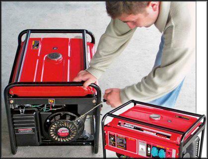ручной автозапуск резервного генератора