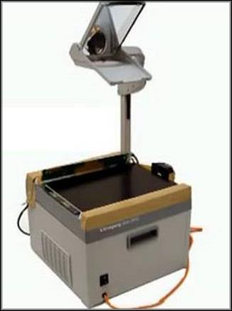 Проектор из прибора для слайдов