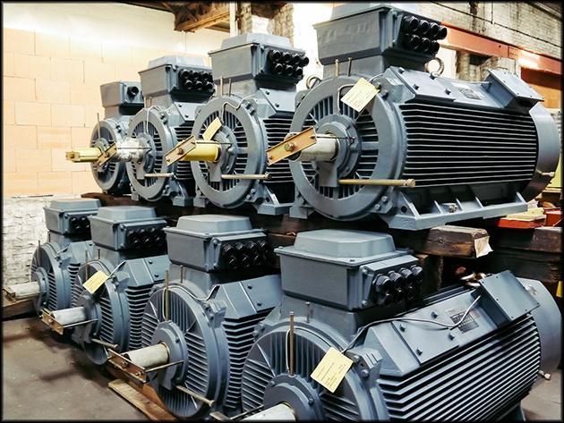 Мощные электродвигатели