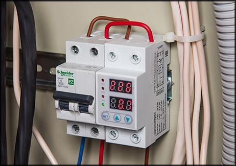 Использование реле тока