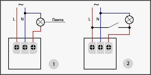 ФР-602 и аналогичные ей подключаются к линии следующим образом