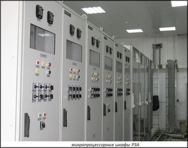 микропроцессорные шкафы