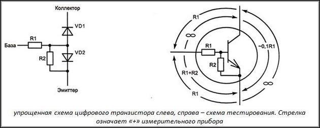 Цифровой транзистор