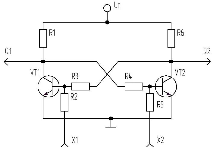 Транзисторный триггер